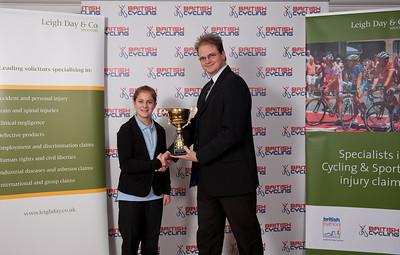BRITISH CYCLING AWARDS 2012